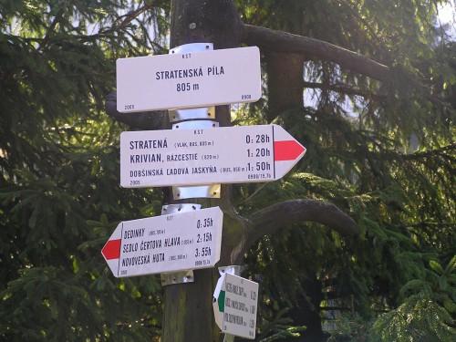 Turistické značenie ešte v dobrom stave