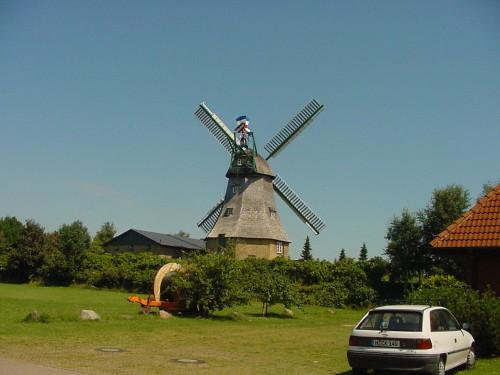 Veterný mlyn za hotelom