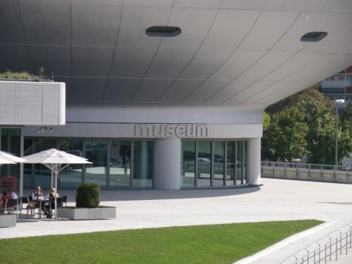 Vstup do budovy múzea BMW