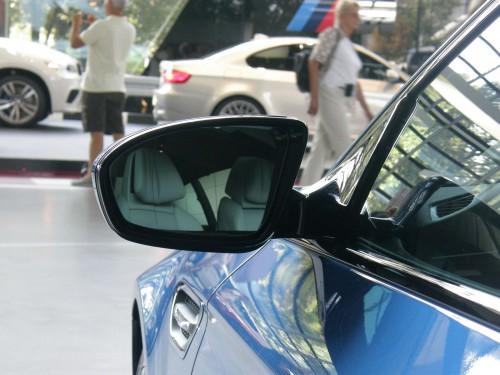 BMW - detail zrkadla