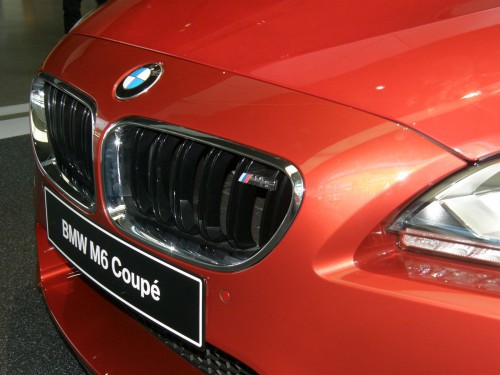 BMW - maska chladiča